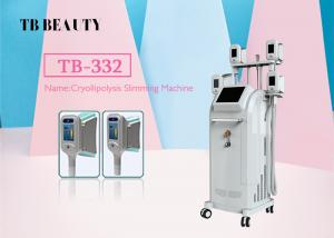 Quality 4 Cryo Handle Fat Freezing Cryolipolysis Slimming Machine , Cellulite Reduction Machine for sale