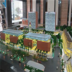 Commercial and Residential 3d Building Miniature Model With
