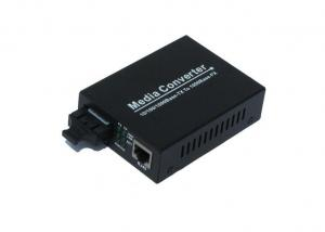 China Dual Gigabit Fiber Optic Media Converter Multimode 224m / 550m For Industrial on sale