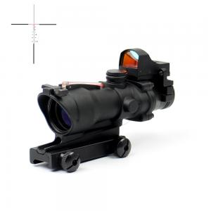 China Fiber Power IR Reticle Second Focal Plane Rifle Scope No Battery 1 2 MOA on sale