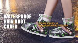 China PVC VAMP, PVC SOLE, PVC SHOES, PVC BOOTS,WATERPROOF RAIN BOOT COVER,reusable shoe rain cover ,waterproof safety rain boo on sale