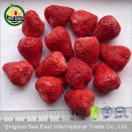 La fraise lyophilisée entière pour le chocolat a séché des fraises/craquement de fraise