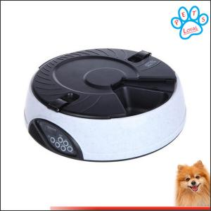 China 6 Meal LCD Digital auto dog feeder Meal Dispenser Bowls with Recorder China factory on sale
