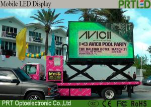 China Slim Outdoor Truck Mobile LED Display P6.25 Energy Saving With Wide Viewing Angle on sale