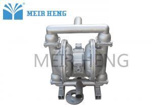 China Chemical Membrane Pneumatic Diaphragm Pump , Miniature Air Dual Diaphragm Pump on sale
