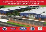 Frame Prefabricated Steel Structure Warehouse Long Span Manufacturing