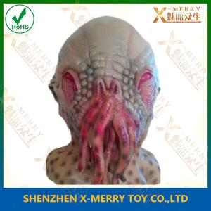 China X-MERRY Doctor Who Ood Mask Octopus Mask Animal Mask Halloween Latex Mask on sale