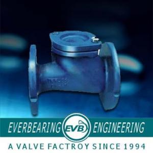 China 1-1/2 to 64 Cast Iron Flange Ball Check Valve on sale