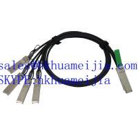 QSFP-4SFP10G-CU1M Compatible Cisco QSFP+/4SFP+ Copper Cable Breakout, 1 Meter
