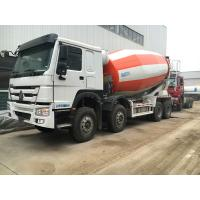 China 8×4 12m3 - 16m3 Concrete Mixer Truck Sinotruk Howo With External Force Resistance on sale