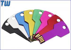 China Slim Durable Aluminum Key Usb Flash Drive 2GB 4GB 8GB 16GB 32GB on sale