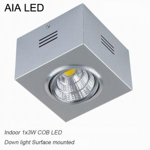 China IP42 Silver indoor COB 3W Ceiling down light&LED Grille light for kitchen used on sale