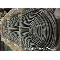 China ASME SA213 U Bend Pipe for Heat Exchanger , TP304 Seamless Stainless Steel Tubing? on sale