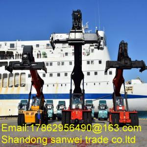 China 53 Inch Container Handling Forklift / Shipping Container Forklift Cummins USA Engine on sale
