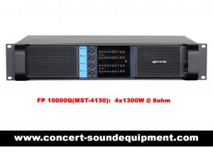 China Disco Sound Equipment / FP 10000Q Switch Mode 4 Channel 4x1300W Amplifier on sale