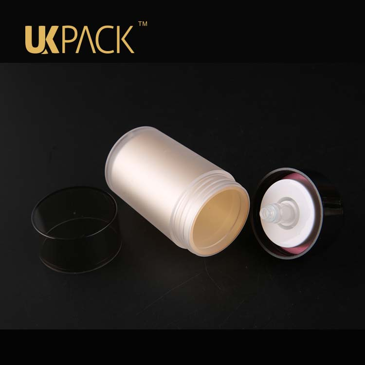 30ml-50ml Double layerPMMA Cosmetic airless bottle for Essence eye cream,airless bottle 30 ml