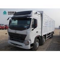 HowoA7 Sinotruk 6 By 4 10 Wheels Heavy Cargo Truck 40T - 50T White Color