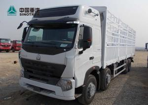 China A7 Heavy Cargo Truck / Howo Tractor Truck ST16 Drive Axle With 800mm Fence on sale