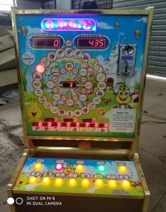 China Commercial Vintage Video Slot Machines Coin Pushing Fruit Poker Type on sale