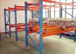 Shelving feito sob encomenda galvanizado do armazenamento da capacidade de peso 1200Kg do tormento da pálete