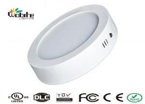 China Surface Mounted LED Panel Light 24W Round Flat LED Lights CE ROHS Certificated on sale