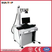 China Bath room and kitchen products fiber laser marking machine with laser power 20W on sale