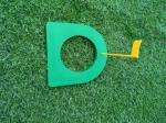 plastic putter plate , golf putting plate , plastic putter target , golf putter  cup