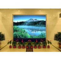 High Definition Indoor Flexible LED Screen , Anti - rust Multi Color LED Display Board