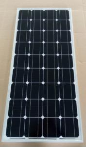 China Black / Deep Blue Mono Cell Solar Panel 80W 21.6V Circuit Voltage Low - Iron Glass on sale