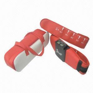 China Electronic muscle stimulators massage belt with EMS and vibration function on sale
