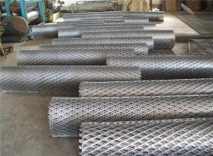 China Stainless Steel/Mild Steel/Aluminum/Galvanized/PlateExpanded Metal Mesh, Common Diamond Hole, 0.02 to 0.2mm Thickness on sale