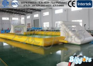 China Children Garden Inflatable Sport Games Soap Soccer Field with Vinyl / Tarpaulin on sale