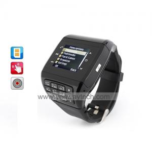 China  Dual SIM Touchscreen Watch Phone + Key Pad (Quadband) on sale