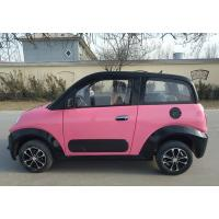 Pink / Blue Electric Golf Carts 220v 4.2kw 2 Seat Electric Car With Front Disc / Rear Drum