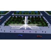 Construction Decorative Floor Dry Deck Fountain Music Dancing Water Fountain With LED Light