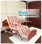 Nursing Metal High Load Manual Adjustable Bed With ISO / CE / FDA Certificate