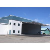 China Prefabricated Lightweight Metal Frame Structure , Maintenance Steel Shed Buildings on sale