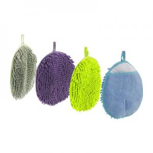 China 22x22 cm Microfiber Car Wash Sponge Eco Friendly Scrubber Cleaning Pad on sale