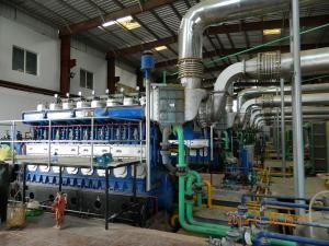 China High Efficiency HFO Fired Power Plant , Open Type 3 Phase Generator Set on sale