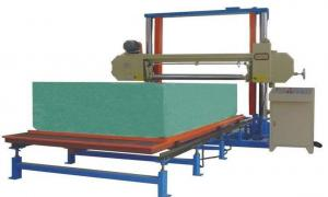 China Horizontal Polyurethane / PU Foam Cutting Machine For Sponge Block 8.12KW on sale