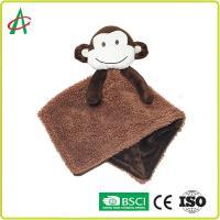 China ASTM Newborn Comforter Toy , EN71 123 Baby Towel Toy on sale