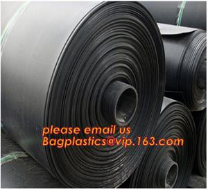 China 0.8mm pond liner hdpe fish pond geomembrane,Composite Geomembrane for fishing pond,Polyester Needle Punched Nonwoven Geo on sale