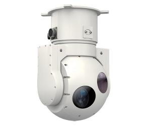 China Miniature Shipborne / Airborne 2-axis Electro Optical IR Thermal Tracking Pod System on sale