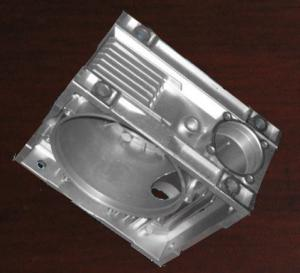 China Pump Base Aluminium Die Casting , Industrial Die Casting Polishing Surface on sale