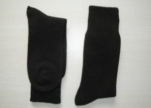 China Winter Cotton Plain Mens Work Socks on sale