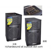 Professional wooden stage speakers with EQ/mixer big speakers large power