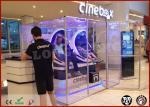 Cabina interactiva 360 grados que giran la pantalla táctildel cine de la realidad virtual de 9d VR