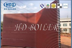 China Heat Exchanger Water Tube Boiler Parts Painted Seamless Waterwall Panel on sale
