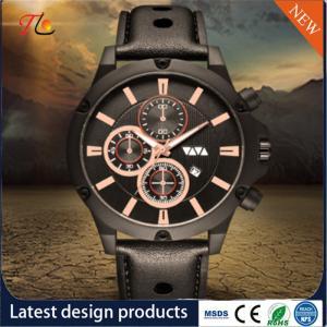China Wholesale PU Strap/Band Men's Watch Movement Watch Fashion Watch Alloy Case on sale