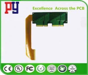China Double Sided Rigid Flex PCB Immersion Gold Impedance 1.0mm Surface Finish ENIG on sale